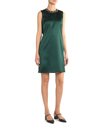Rivanna Sleeveless Skimmer Dress