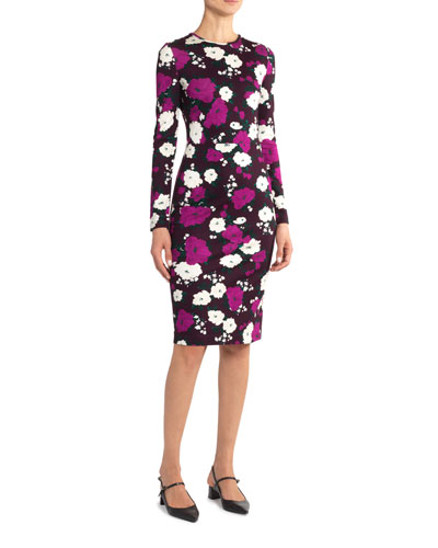 Eileen Floral Print Bodycon Dress