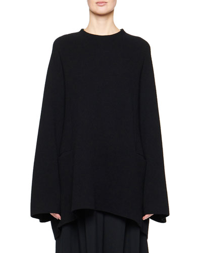 Laurlyn Wool-Cashmere Knit Tunic
