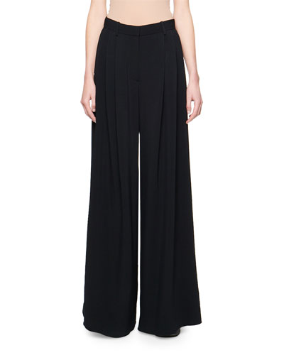 913c246dcf0d71 Quick Look. THE ROW · Ossie Pleated-Front Wide-Leg Pants