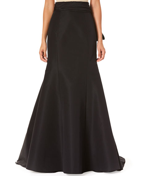 Carolina Herrera Icon Knotted Trumpet Skirt