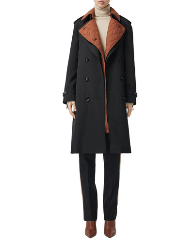 Failand Modular Wool Trench Coat with Warmer
