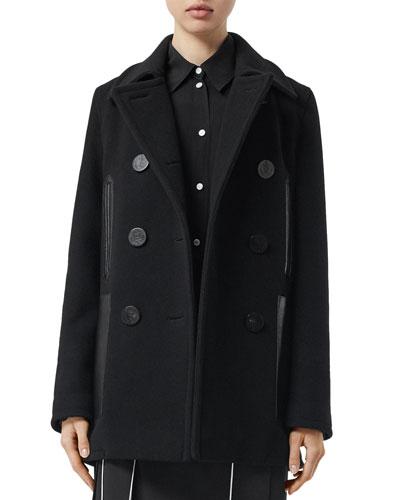 Mossley Wool Pea Coat