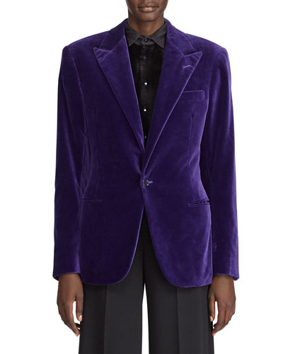 Fern Cotton Velvet Jacket