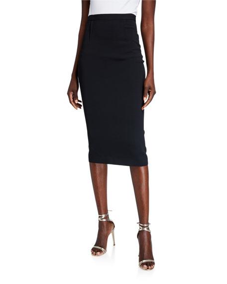 Roland Mouret Arreton Jersey Skirt