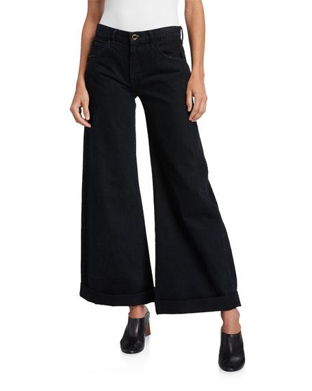 Khaite Noelle Wide-Leg Jeans