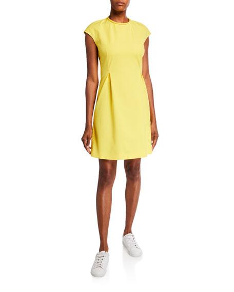 Piazza Sempione Cap-Sleeve Sheath Dress