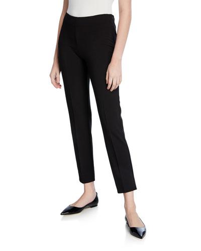 Emanuela Straight-Leg Jersey Pants