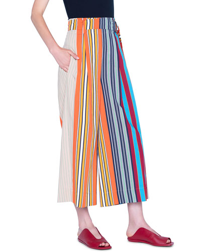 Fiorella Parasol Striped Pants