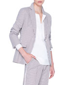 Akris punto Seersucker Cotton Blazer and Matching Items