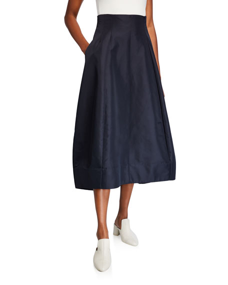 Co Tucked Waist Skirt