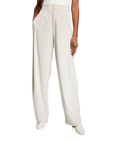 Relaxed Leg Trousers