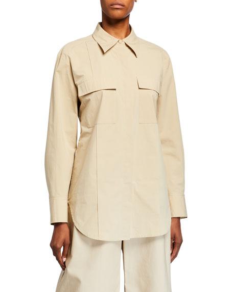 Co Cotton Utility Shirt
