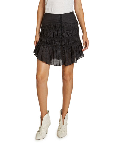 Sidney Ruched Raimie Skirt