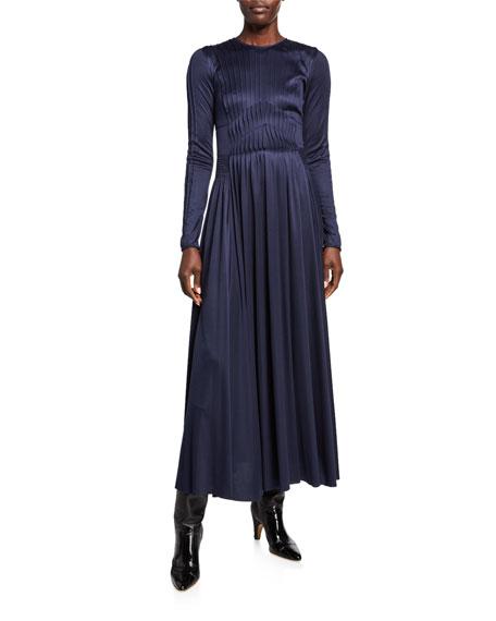 Gabriela Hearst Hermina Silk-Jersey Dress