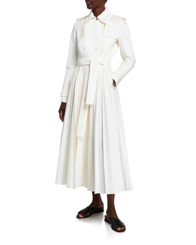 Gabriela Hearst Coats STEIN PLEATED TRENCH COAT