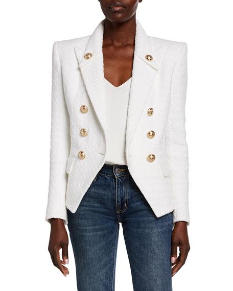 Balmain Boucle Tweed Jacket