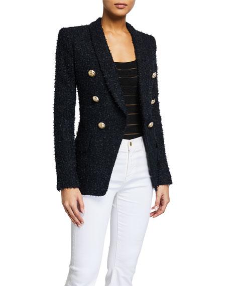 Balmain Oversized Tweed Jacket