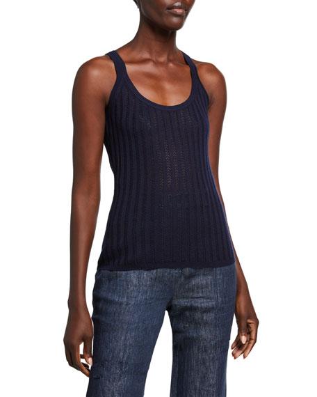 Gabriela Hearst Nevin Knit Tank Top
