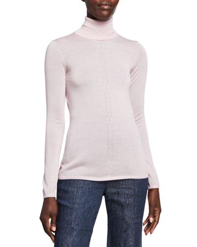Steinem Cashmere Turtleneck Sweater
