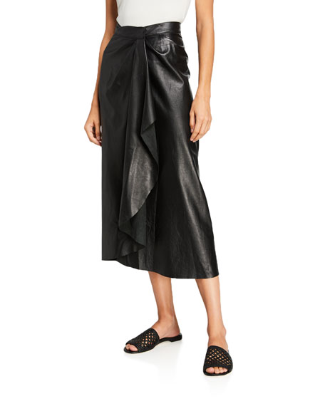 Johanna Ortiz Acclaimed Protagonist Leather Skirt