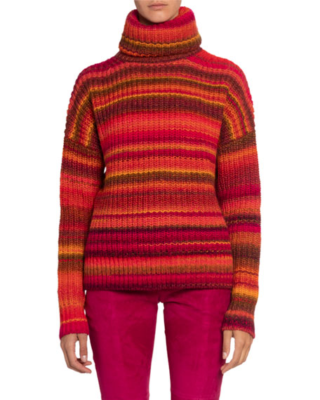 Altuzarra Striped Turtleneck Sweater