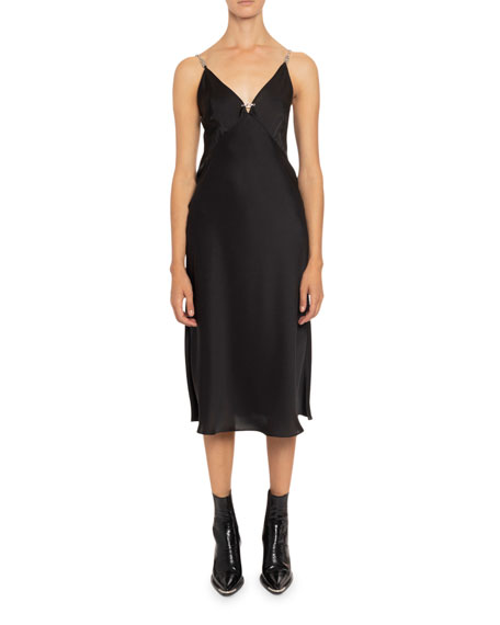 Paco Rabanne Strappy Midi Dress
