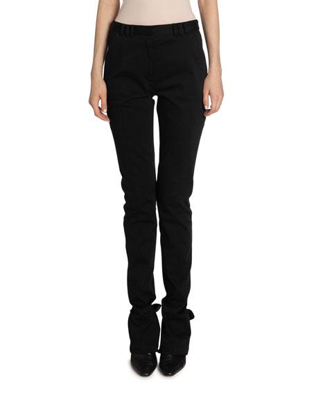 Proenza Schouler Cotton Skinny-Leg Pants