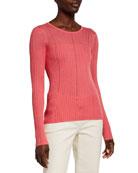 Jason Wu Collection Cashmere-Silk Illusion Sweater