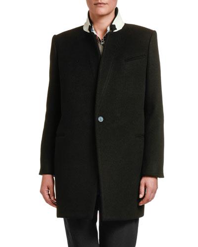 Double-Face Wool Coat