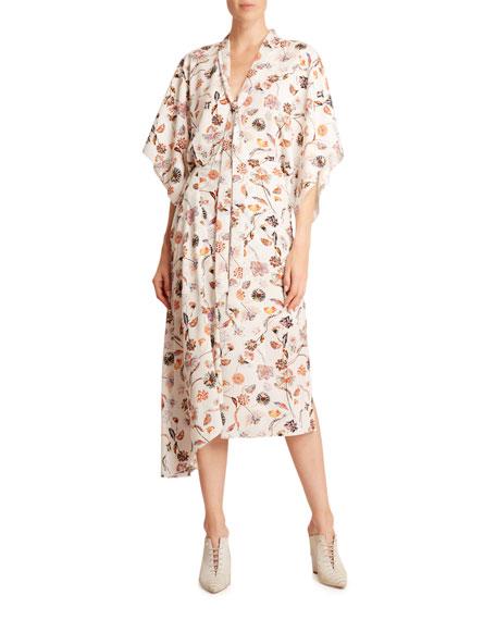 Roland Mouret Meyers Fine Crepe Dress