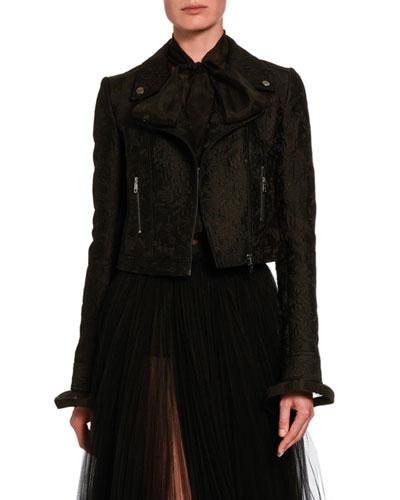 Lace Moto Jacket