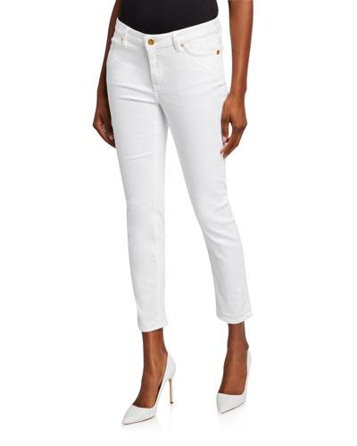 J492 Cropped Skinny Jeans