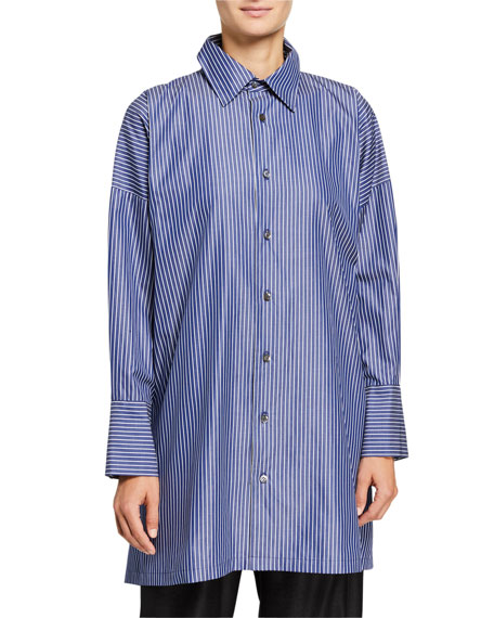 Eskandar Wide A-Line Shirt