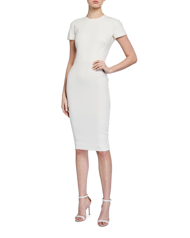 Victoria Beckham Dresses FITTED T-SHIRT DRESS