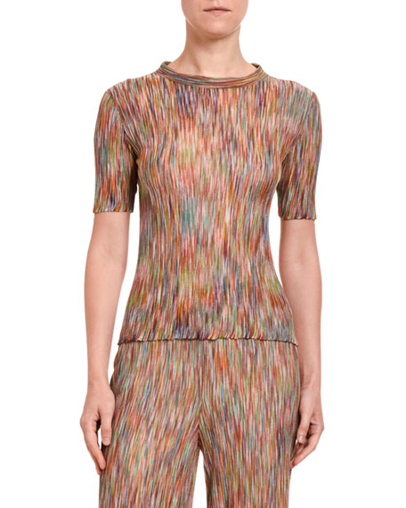 Missoni Space-Dye Short-Sleeve Shirt
