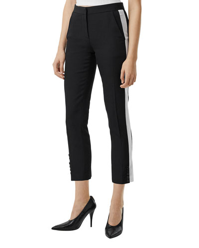 Hanover Wool Cigarette Trousers