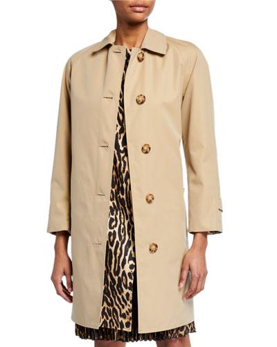 Waterstone Leopard Print Coat