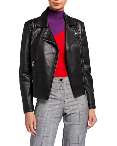 Carryover Leather Moto Jacket