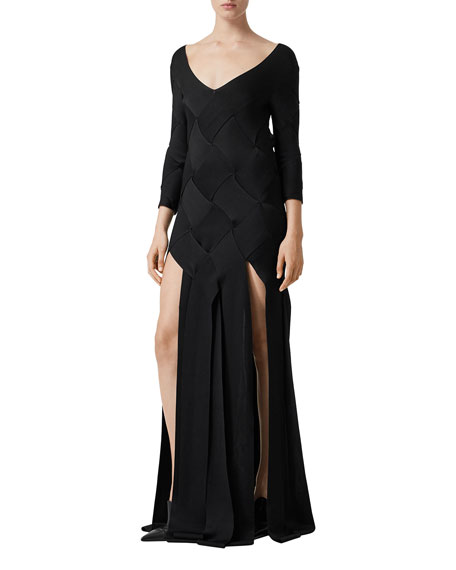 Burberry Anatori Woven Knit Gown