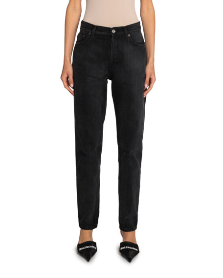 Balenciaga Tapered Japanese-Denim Pants