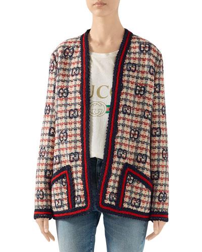 GG-Check Tweed Jacket