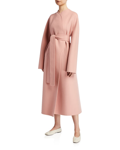 THE ROW Celete Cashmere Wrap Coat
