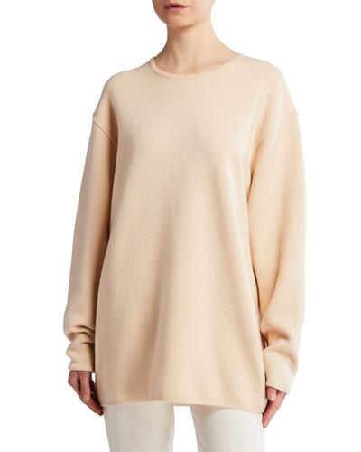 Cohan Merino-Cashmere Oversized Sweater