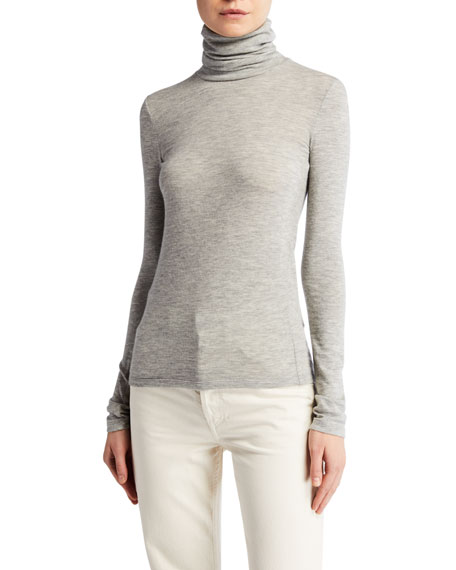 THE ROW Margarita Cashmere Top