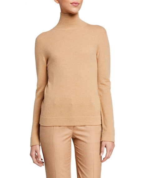 Agnona Cashmere Tubular-Finish Turtleneck Sweater