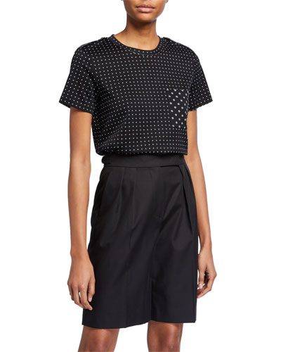 Polka-Dotted Jersey Tee