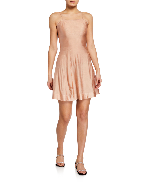 Satin Mini Slip Dress