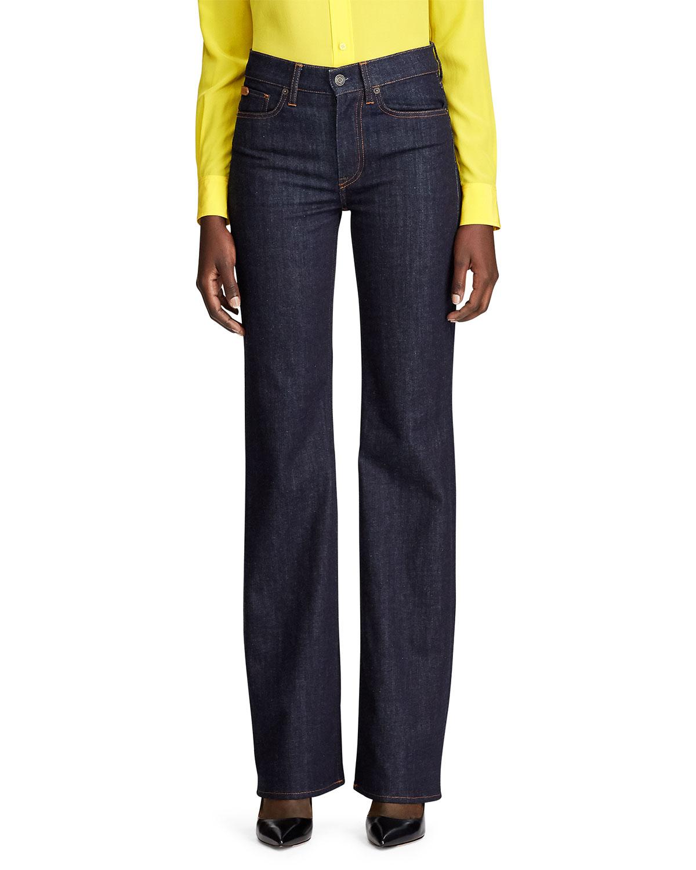 Ralph Lauren Jeans WIDE LEG DENIM JEAN