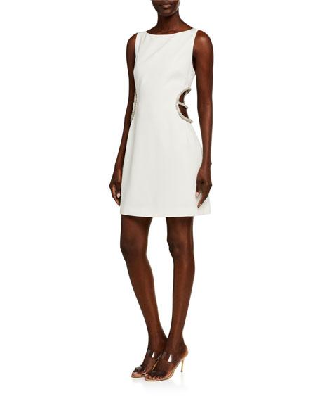 Haney Roselyn Cutout Mini Dress